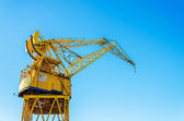 Old Yellow Crane — Stock Photo