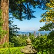 Stock Photo: Portland, Oregon Cityscape