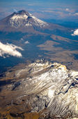 Popocatepetl Volcano Vertical — Stock Photo