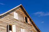 Old Weathered Wooden Building — Stock Photo