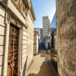 Tombs in Recoleta Cemetery — Stock Photo