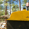 Stock Photo: Old Logging Machinery
