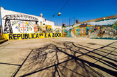 La Boca Graffiti — Stock Photo
