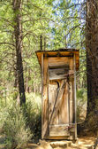Historic Outhouse — Stock Photo