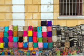 Handicrafts in Cartagena — Stock Photo