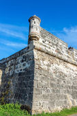 Cartagena, Colombia Wall Corner — Foto Stock