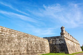 Wall of Cartagena, Colombia — Stock Photo