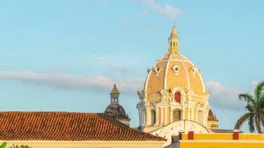 Cartagena Time Lapse — Stock Video