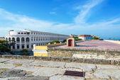 Cartagena Wall View — Stockfoto