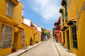 Cartagena Street View — Stock Photo