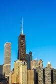 Vertical Chicago Cityscape — Stock Photo