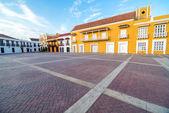 Historic Plaza in Cartagena — Stock Photo