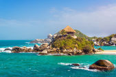 Beautiful Tayrona Beach — Stock Photo