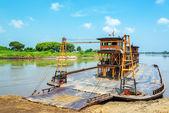 Ferry to Mompox — Stock Photo
