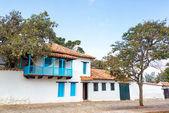White Colonial Architecture — Photo