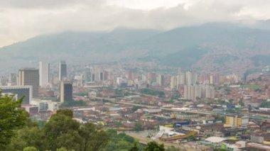 Medellin Time Lapse — Стоковое видео