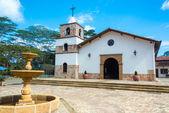 教会在梅萨德洛斯桑托斯 — 图库照片