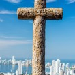 Cross and City — Stock Photo #43916635