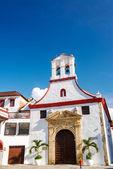 White Colonial Church — Stock Photo