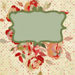 Vintage rose background. EPS 8 — Vector de stock