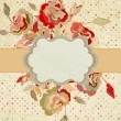 Stylish vintage floral background. EPS 8 — Stock Vector