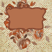 Vector floral background. EPS 8 — Vettoriale Stock
