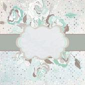 Romantic blue gray background. EPS 8 — Stock Vector