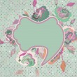 Romantic vintage rose background. EPS 8 — Stock vektor