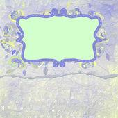 Romantic Flower Background. EPS 8 — Stock Vector