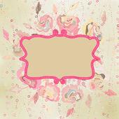 Motif de fleurs vintage. eps 8 — Vecteur