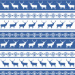 Christmas seamless pattern with deer. EPS 8 — Stock Vector #13756077
