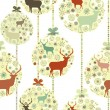 Royalty-Free Stock Vector Image: Colorful Christmas seamless pattern. EPS 8