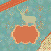 Christmas card design. EPS 8 — Vector de stock