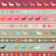Norwegian seamless pattern. EPS 8 - Grafika wektorowa
