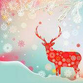 クリスマスオーナメント雪から作られました。eps 8 — ストックベクタ