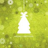 装饰蓝色的圣诞树。8 eps — 图库矢量图片