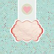 Valentine's card template. EPS 8 — Stockvector  #18127121