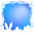 Royalty-Free Stock Vector Image: Happy easter card template. EPS 8