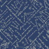 Maths seamless pattern. EPS 8 — Wektor stockowy