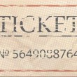 Stock Vector: Ticket admit one vintage one.