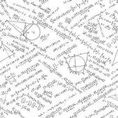 Maths seamless pattern. EPS 8 — Stock Vector
