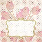 Easter-themed polka dot collage. EPS 10 — Stock Vector