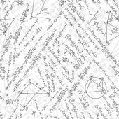 Maths seamless pattern. EPS 8 — Stockvector