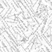 Maths seamless pattern. EPS 8 — Vetorial Stock