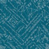 Mathematics seamless. EPS 10 — Stock Vector