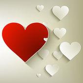 Valentine's day background. EPS 10 — Vector de stock