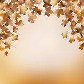 Abstract autumnal backgrounds template. EPS 10 — Cтоковый вектор