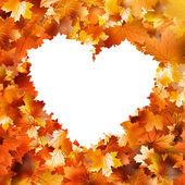 Ik hou van herfst bladeren. en omvat ook eps 10 — Stockvector