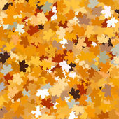 Background with maple autumn leaves. EPS 10 — Stock Vector
