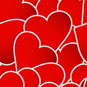 Valentine`s Day abstract. EPS 10 — Vector de stock